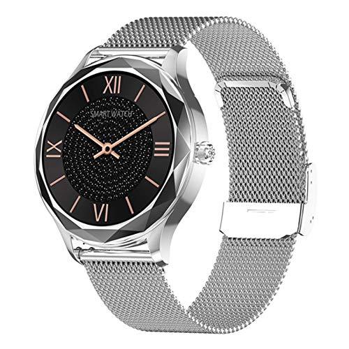 QAK DT86 Bluetooth Smartwatch Fitness Uomo E Orologio da Donna A Cardiofrequenza della Frequenza Cardiaca Sport Sports Smart Watch (per iOS Android),C