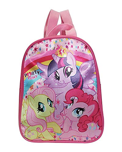 My Little pony - Petit sac à dos pour la maternelle My Little Pony avec Twilight Sparkle, Pinkie Pie et Fluttershy