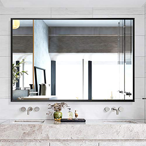 NeuType Large Bathroom Mirrors Wall Mounted Mirrors for Bathroom Bedroom Living Room,Vanity -