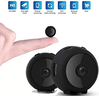 Mini Spy Camera, OOOUSE Mini WiFi Hidden Camera Wireless HD 1080P Security Camera with Night Vision Motion Detection, Wide...