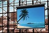 Reflecta Galaxy Roller Lux 181x 104cm 16: 9schwarz, grau Bildschirm Projektion–Monitore von Projektion (171cm, 97cm, 16: 9, schwarz, grau)