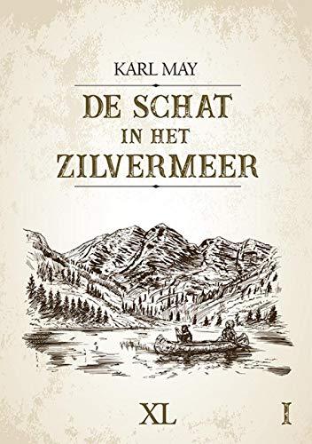 De schat in het zilvermeer - (in 2 banden): grote letter uitgave