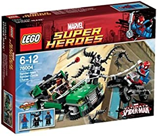 LEGO Super Heroes Spiderman Spider Cycle Chase 76004