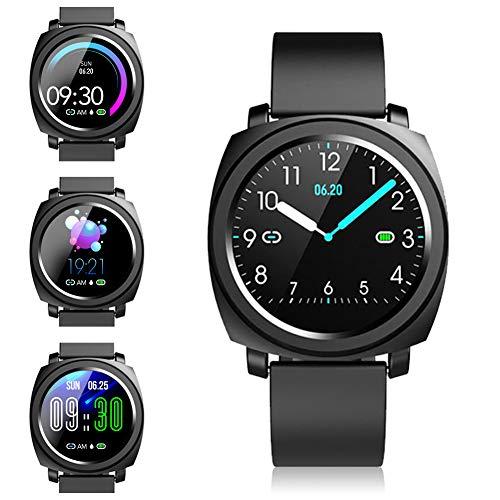 ZKCREATION ZKCREATION Smartwatch - Fitness Armbanduhren Fitness Uhr Wasserdicht Fitness Tracker Sportuhr mit Pulsuhren Schrittzähler Stoppuhr Smart Uhr für Damen Herren Smart Watch für Android iOS