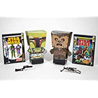 2-Pack Far Out Toys Star Wars Pulp Heroes Chewbacca and Boba Fett Snap Bots