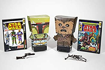2-Pack Far Out Toys Star Wars Pulp Heroes Chewbacca & Boba Fett Snap Bots