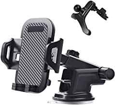 Universal Smartphone Car Air Vent Phone Mount Holder Cradle for Car Dashboard Compatible for iPhone Xs XS Max XR X 8 8+ 7 7+ SE 6s 6+ 6 5s 4,for Samsung Galaxy S10 S9 S8 S7 S6 S5 S4 LG Nexus and More