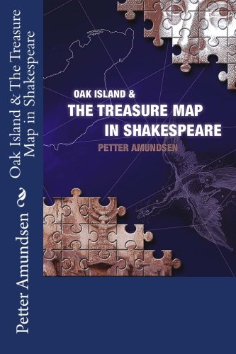 Oak Island & the Treasure Map in Shakespeare: Color Version