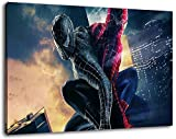 Spiderman Format 120x80 cm Bild auf Leinwand, XXL riesige