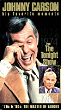 Johnny Carson - His Favorite Moments from The Tonight Show - '70s & '80s, The Master of Laughs VHS