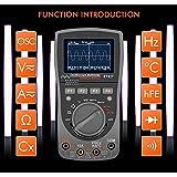 ZZHJYD WYBGJ 2 IN1 Digital 40MHZ 200MSPS/ S Osciloscopio 6000c Ounts True RMS Auto Multímetro ANALÓGICO GRAP De Forma De Onda Herramienta LCD Portable Portable