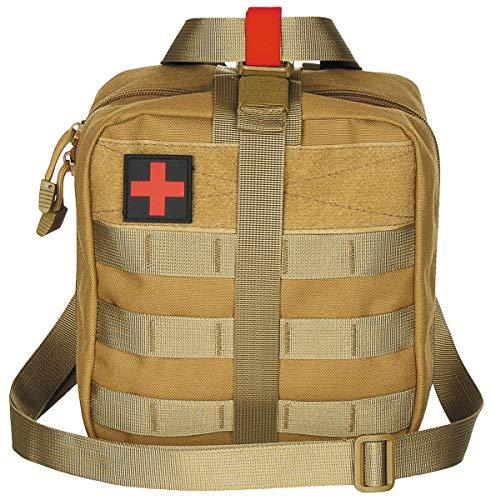 MFH 30631 Borsa First Aid Molle Grande (Coyote Tan/21 x 22 x 12 cm)