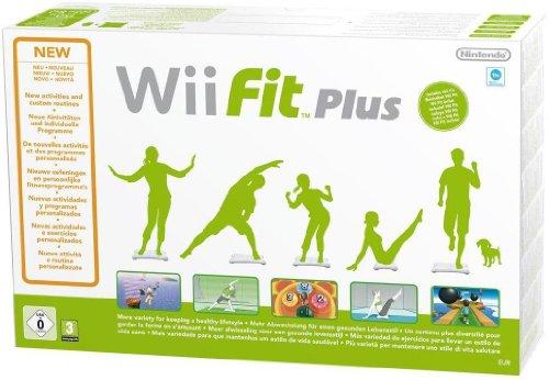 Wii Fit Plus inkl. Balance Board (weiss) - [Nintendo Wii]