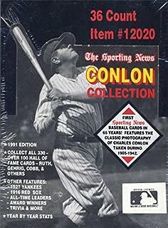 1991 Conlon Collection Baseball Box