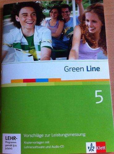 Green Line 5 Vorschläge zur Leistungsmessung, Kopiervorlagen mit Lehrersoftware