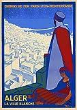 Algerien Poster Reproduktion/Format 50 x 70 cm Papier 300 g