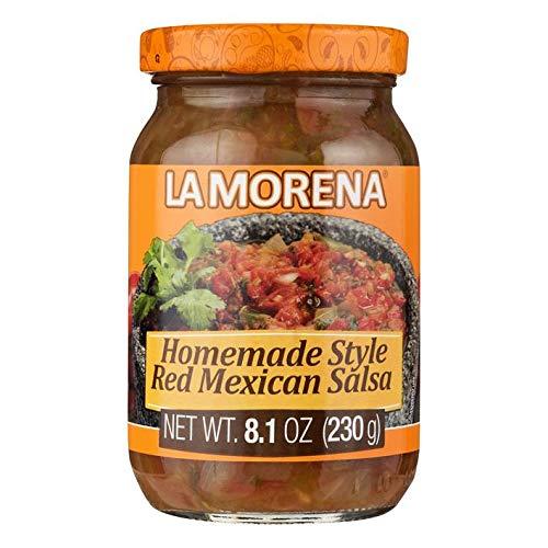 Rote Mexikanische Chili-Soße nach Hausmacher Art - Salsa Roja Mexicana Casera - Homemade Style Red Mexican Salsa, 230g