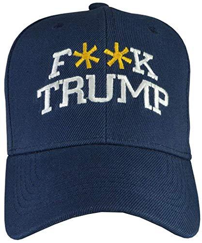 SCAA Hats for Men Women Anti-Trump Hats Fuck Trump/Dump Trump/Lock Him up Color2
