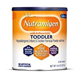 Nutramigen Hypoallergenic Baby Formula from Enfamil- Lactose Free Milk Powder, 12.6 ounce - Omega 3 DHA, Probiotics for Digestive Health & Immune System, Iron
