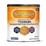 Enfamil Nutramigen Hypoallergenic Colic Toddler Formula Lactose free milk Powder, 12.6 Oz - Omega 3 Dha, Lgg Probiotics, Iron, Immune Support (Packaging may vary)