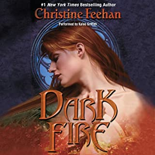 Dark Fire audiobook cover art
