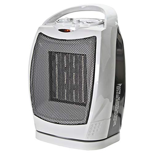 CCC COMFORT ZONE CZ449E Space-heaters, Small, Grey