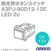 オムロン(OMRON) A3PJ-90D12-12EO 形A3P照光押ボタンスイッチ (角胴形) (LED照光) (橙) NN