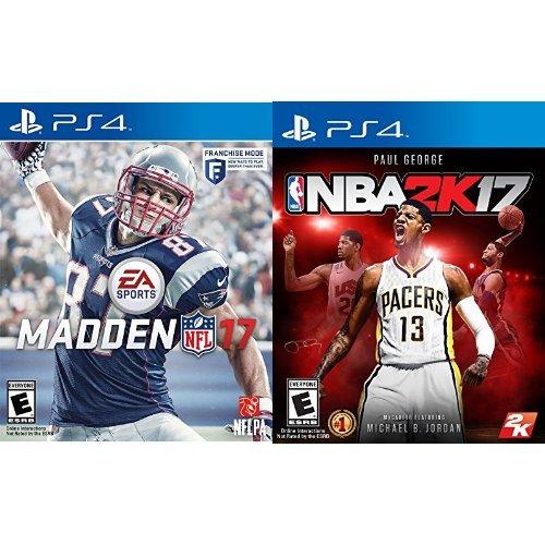Madden NFL 17 + NBA 2K17 - PlayStation 4