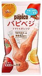 [冷凍] 江崎グリコ パピコ パピベジ トマト&オレンジ 90ml