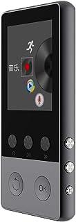Perfk Ultra-Thin MP3 Music Player 1.8FT HD Display Screen HiFi Sound Stereo Audio - Black