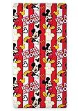 Disney Spannbetttuch Motiv Mickey Mouse, 90 x 200cm, 100% Baumwolle