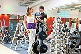 druck-shop24 Wunschmotiv: Paar trainiert in Fitnessstudio mit Hanteln #39052111 - Bild auf...