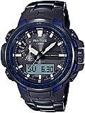 [カシオ] 腕時計 プロトレック Blue Moment 電波ソーラー PRW-6100YT-1BJF ブラック