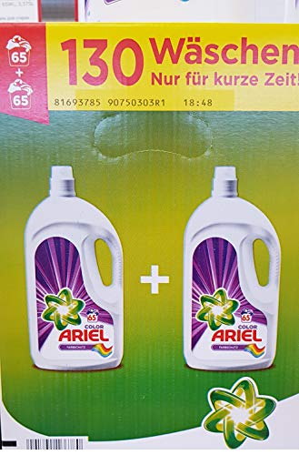 Ariel Detergente líquido, detergente de color, protección