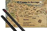 1art1 Jakobsweg Poster (91x61 cm) EL Camino De Santiago