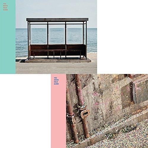 BigHit Bts - You Never Walk Alone [Left + Right Ver. Set] 2Cd+Photobook+Photocard+2Folded Poster+Extra Photocards Set