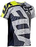 YMWL Hombre Mountain Bike Motocross Jersey Camiseta de Manga Larga Traje de Descenso al Aire Libre a Prueba de Viento Transpirable y Que Absorbe El Sudor Secado Rápido MTB Maillots Manga Corta