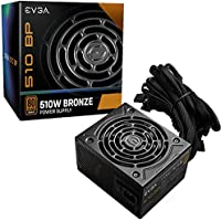EVGA 510 BP 80+ BRONZE 500W + 10W Power Supply
