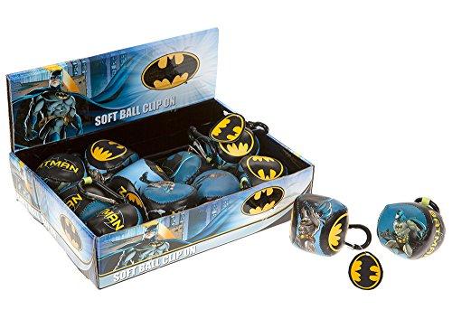 Joy Toy 301042 Batman Clip sur Porte-clés Souple en Affichage (Lot de 12)