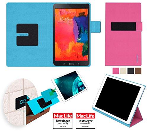 reboon booncover Tablet Hülle | u.a. für tolino tab 8, Xperia Z3 Tablet | pink Gr. M2 | Tablet Tasche, Standfunktion, Kfz Tablet Halterung & mehr