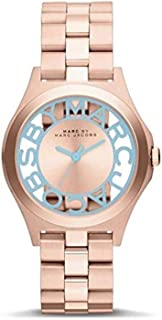 Marc Jacobs Women's Quartz Watch, Analog Display and Stainless Steel Strap MBM3296