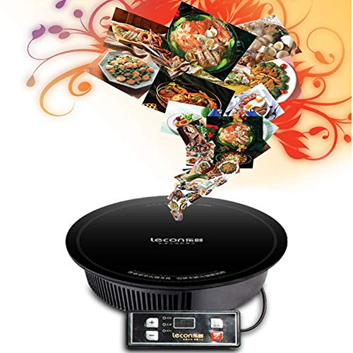 ANGELA 2000W Portable Commercial Induction Cooktop, Smart Sensor Touch Electric Cooking Hot Plate,...