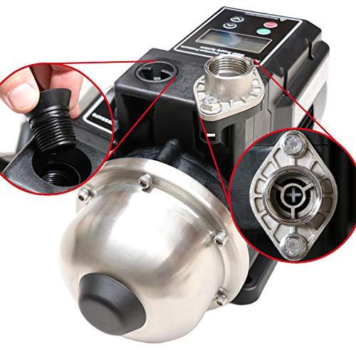 INVERTER-HAUSWASSERWERK - INVERT-Tech2 Permanent Magnet Centrifugal-Pumpe Hauswasserautomat Hauswasserpumpe energiesparende Kreiselpumpe smarte Pumpe mit Pumpensteuerung