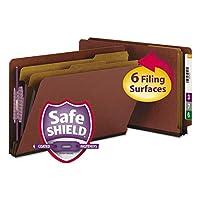SMD29860 - Pressboard End Tab Classification Folders by Smead