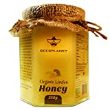 Certified Organic and Raw Linden Honey - Natural Single Origin from Our Forest