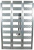 Highland (1127200) 69' Aluminum Smooth Rung Tri-Fold Loading Ramp - 1 unit