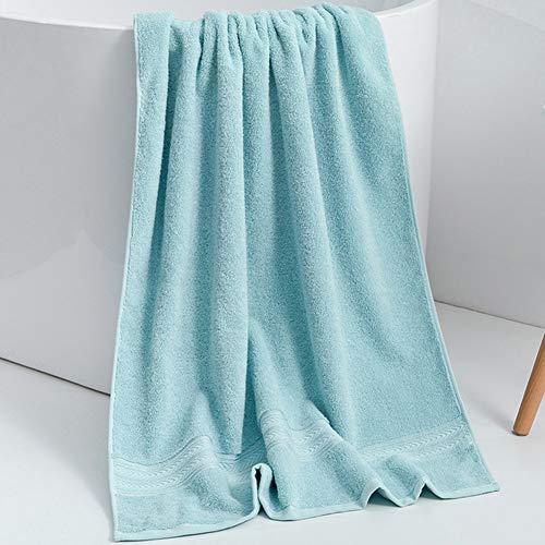 ZYCH Baño de Toallas Toallas de Peluquería,Toallas de Salón,Toallas de Mano,70x140 cm para Bebés,Niños Juegos de Toallas de/Cara/Mano/Baño,Paños de Limpieza/Cocina Turbante (Color : Light Blue)