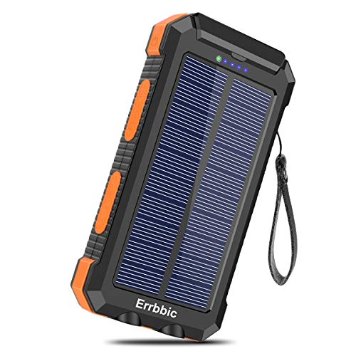 Solar Charger 30000mAh Portable Solar Power Bank for...