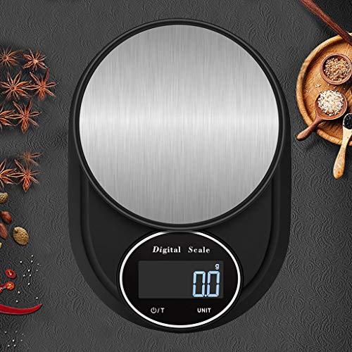 LXYScales Intelligente elektronische keukenweegschaal, 0,1 g/5 kg, digitale weegschaal voor levensmiddelen, super balans, nauwkeurig, eenvoudig te bedienen nauwkeurigheid