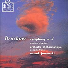 Anton Bruckner : Symphony, No. 4, Marek Janowski